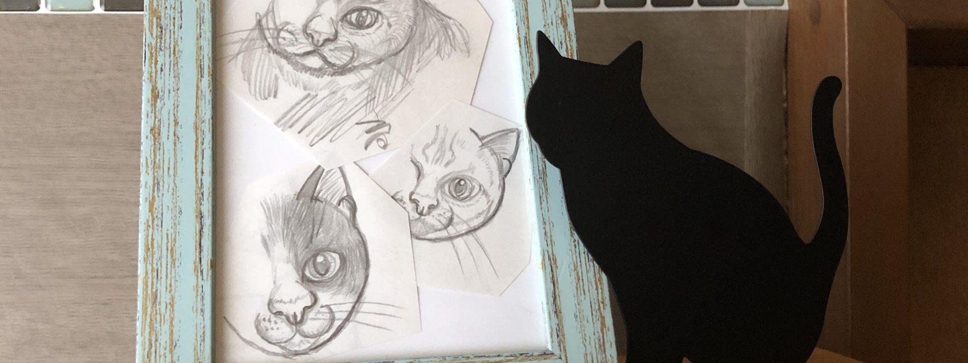 猫絵に挑戦