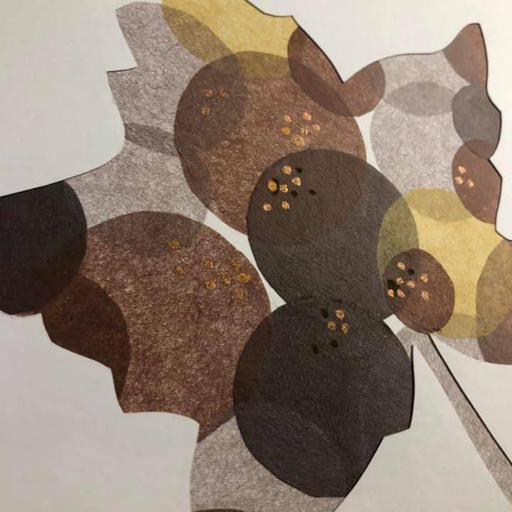 「茶房 楓」のロゴマークを作りました